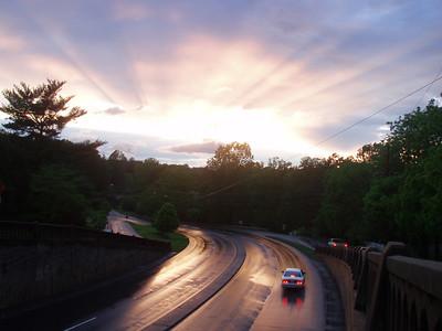 Beautiful Sunset in C'Ville