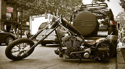 Chopper- Montigue St.
