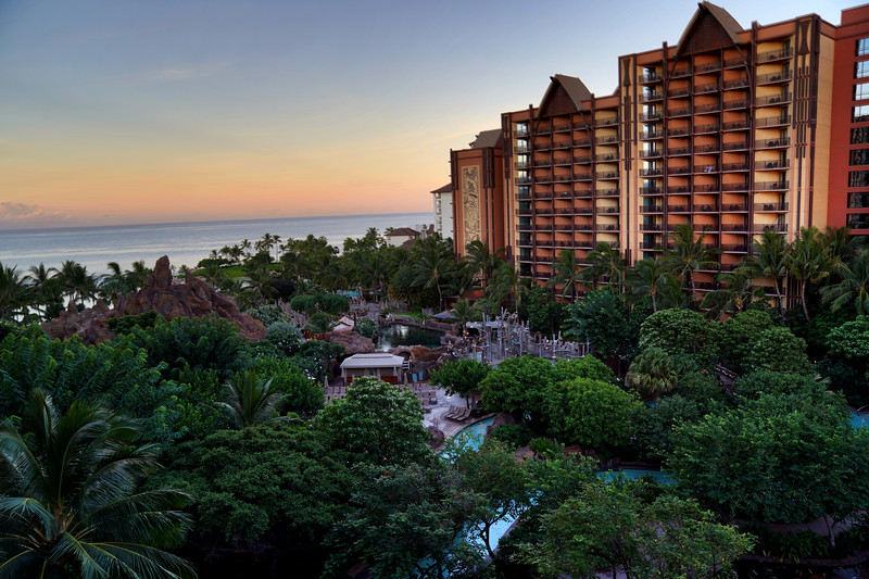 Aulani Resort in Hawaii