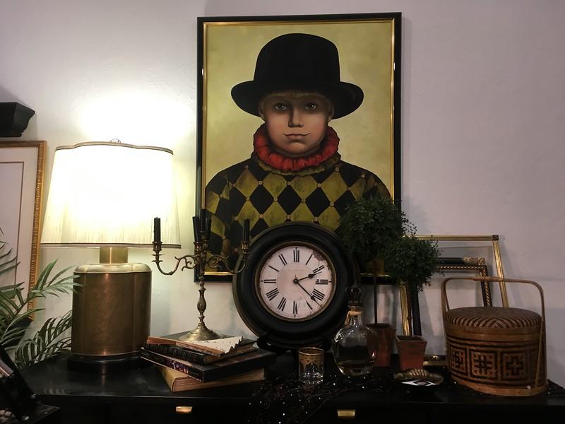 Morgan's art studio was designed around this favorite painting