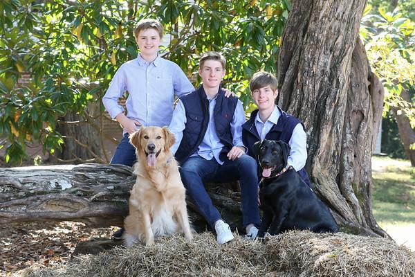 Heacock Boys & Dogs