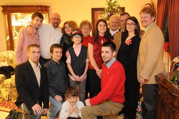 Reagan Family 2011-12