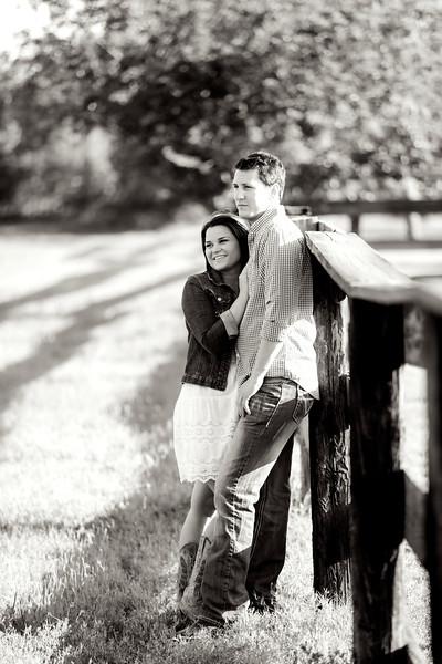 Amber & Clint Engagement Portraits