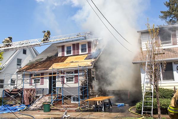 Totowa NJ 2nd alarm, 134 & 130 Boyle Ave. 04-18-17
