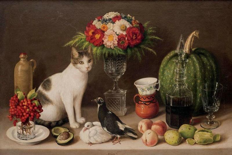 Agustin Arrieta (Mexican, 1803 – 1874)