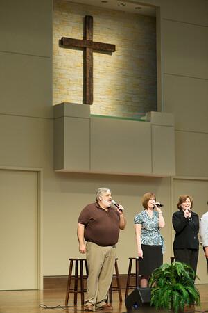 Praise & Worship in New Worship Center