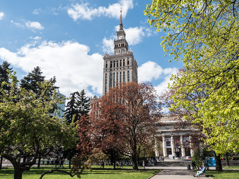 The Palace of Culture and Science in the name of Joseph Stalin