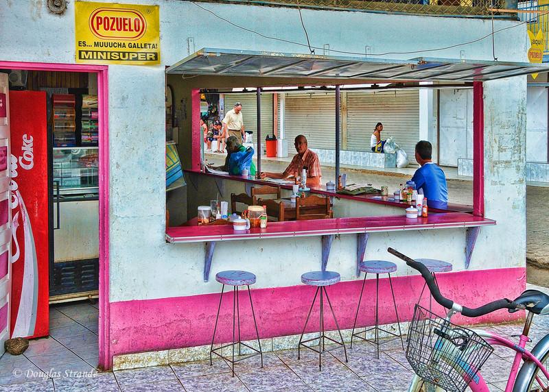 On The Road: Sidewalk cafe