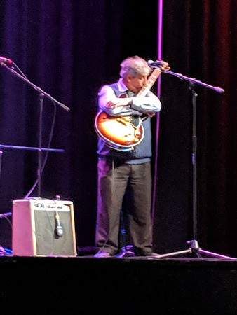 Chris Cain at the Auburn State Theatre