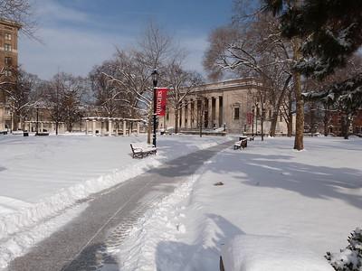 campus snow day