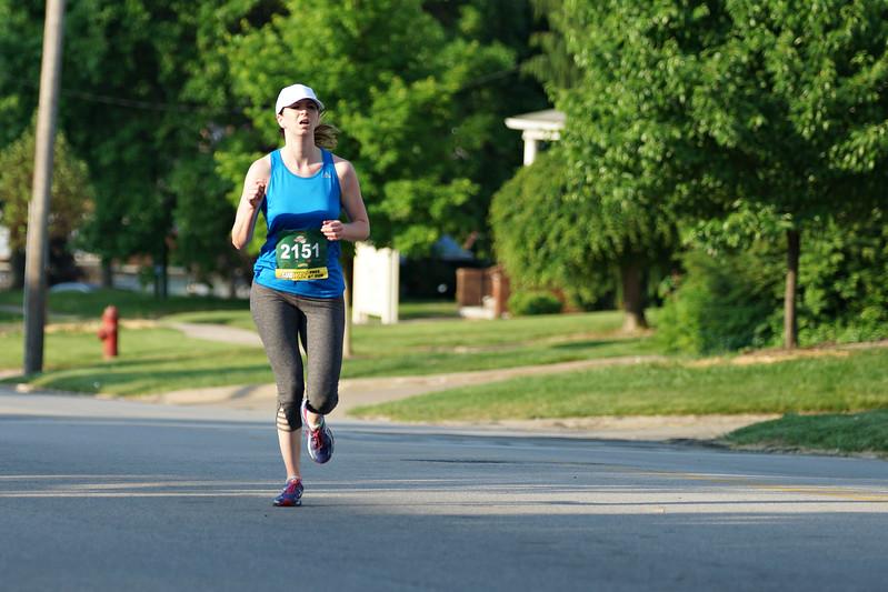 2nd Place Women's 5K, Lauren Bradley.