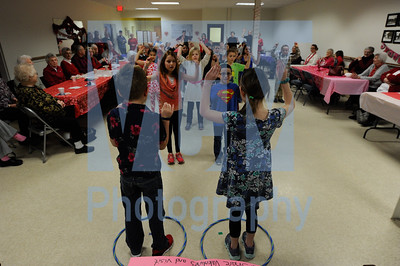 Students visit Barre Senior Center