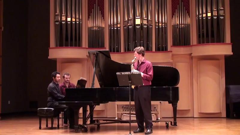 """""""Fuzzy Bird Sonata"""" - Takashi Yoshimatsu (b. 1953)"""
