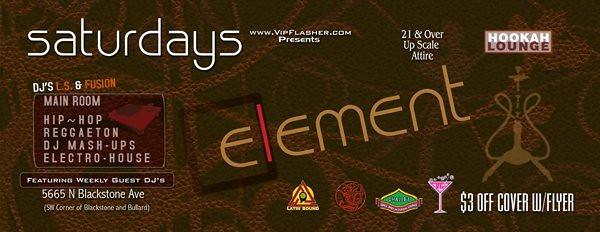 2007-06-23 [Element, Ghaleb's Grill & Hookah Lounge, Fresno, CA]
