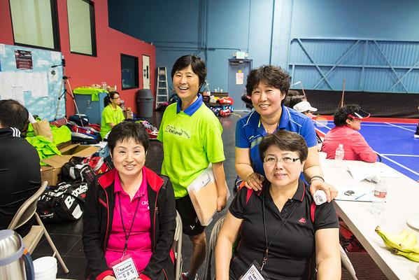 5th Annual Eye Level Badminton Tournament 3.30.2013