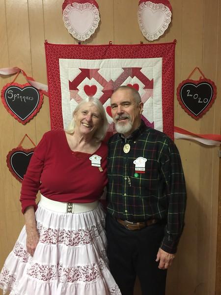 Mary Bartley & Steve Thomas