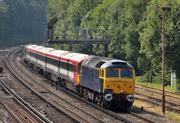 Trains August 2016