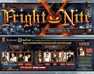 Fright Nite @ Club Palladium 10.27.11