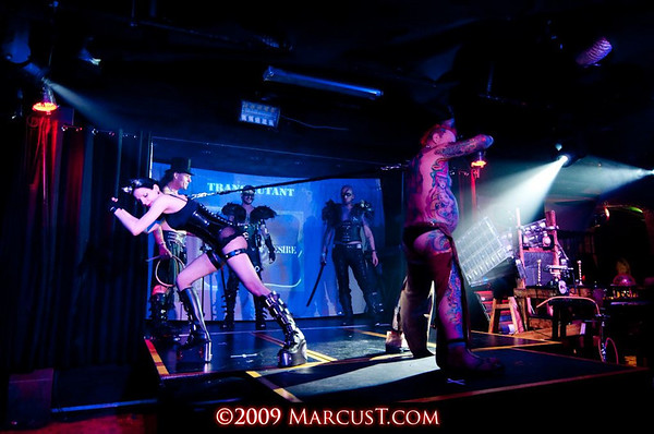 December 2009 - Club Antichrist - Performers