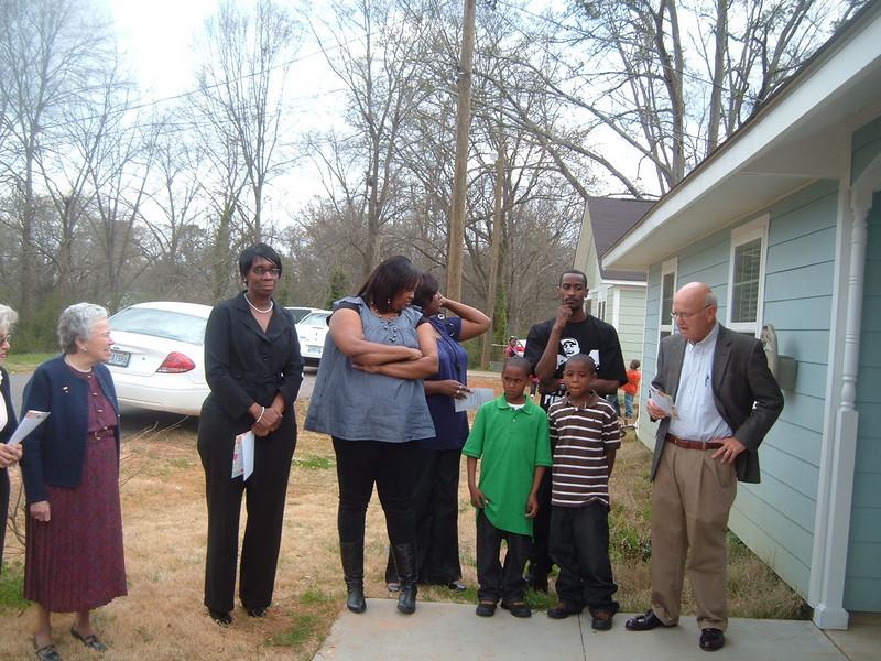 10 03-28 House #3 re-dedication for Shenona Williams.  kr