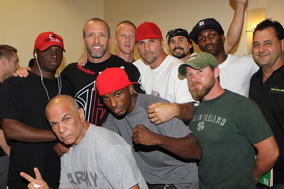 Ballroom Brawl at the DoubleTree...Weigh In... Thursday May 20, 2010