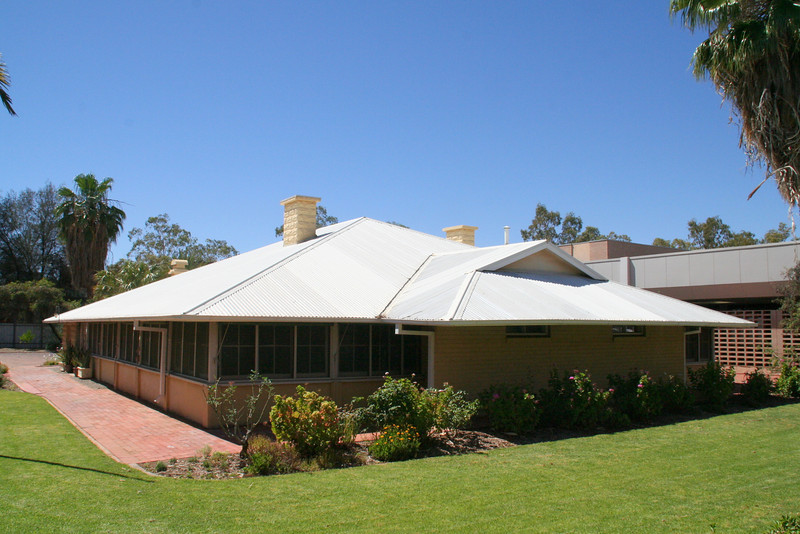 The Residency - home to the first and only Government Resident of Central Australia