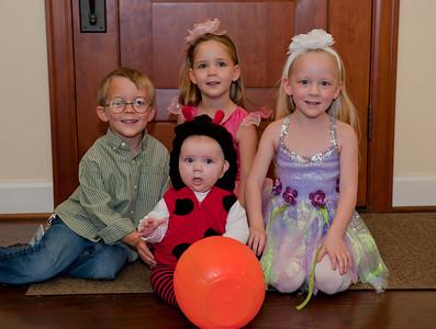 Aaron, Kaitlyn, Hannah and Ava - October 2010