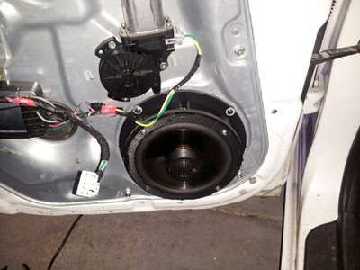 2009 Hyundai Sonata GLS Rear Door Speaker Installation - USA