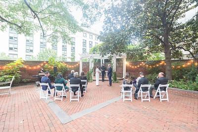 01 Ceremony @ Dacor Bacon House