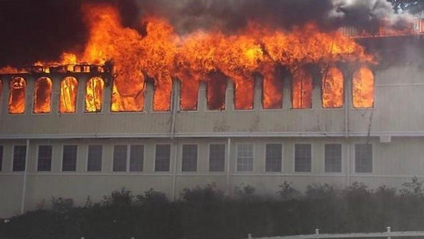 Grand Ballroom Fire