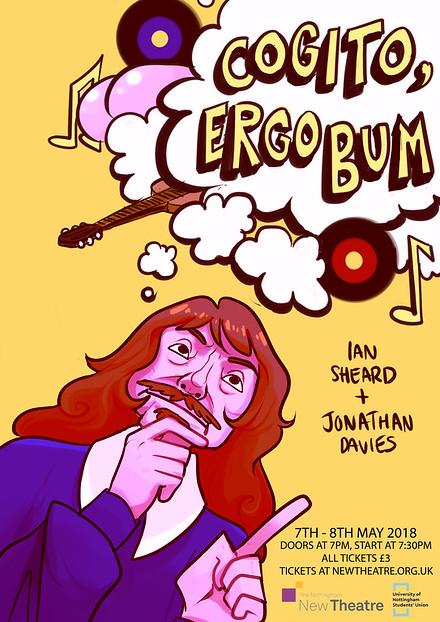 Cogito Ergo Bum poster