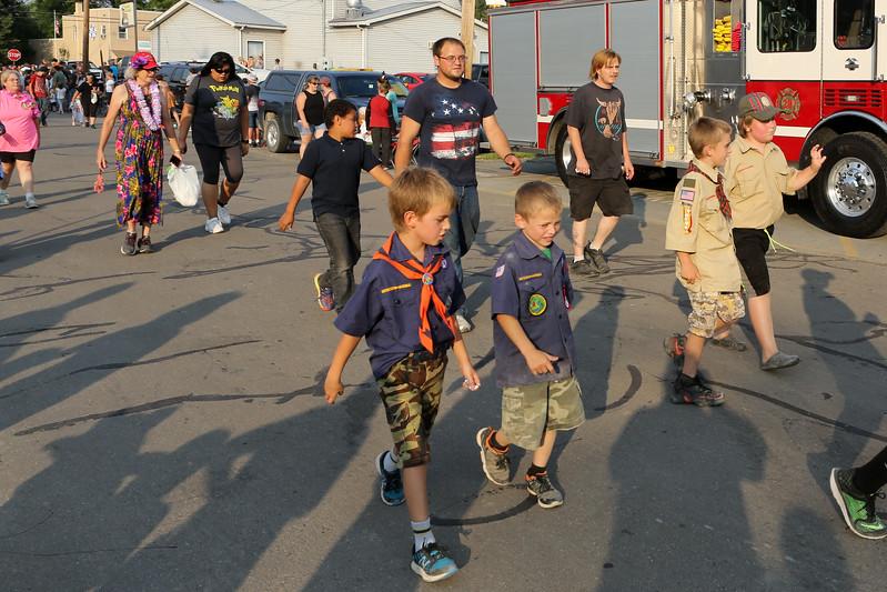 17 08 08 Wyalusing Firemen's Parade