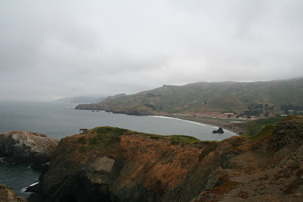 GOLDEN GATE NATIONAL RECREATION AREA-POINT BONITA & MARIN COUNTY