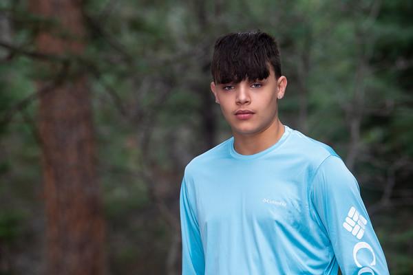 Isaiah Canto Senior Portrait Pueblo East 2021