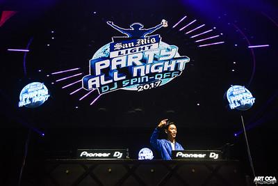 2017.8.4 - San Mig Light DJ Spinoff Finals