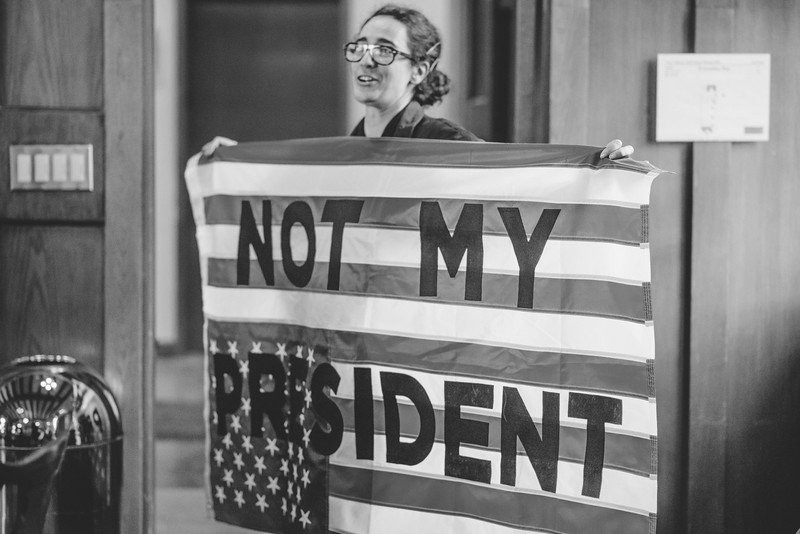 Protest Banner Making bw-186.jpg