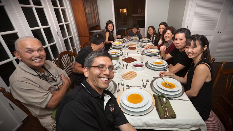Thanksgiving Dinner 2011