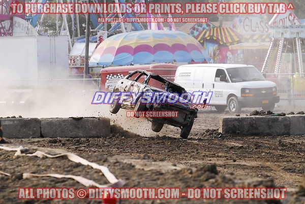 Lake County Fair Demo Derby