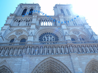 Notre Dame Cathedral & Statue of Liberty