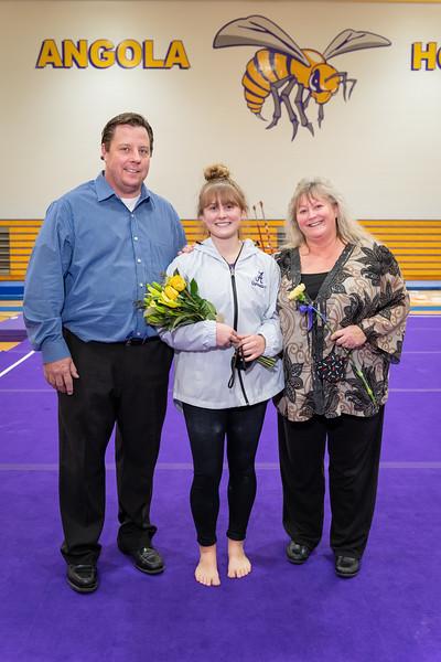 2021-01-25 Gymnastics Senior Night