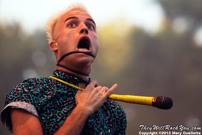 Neon Trees <br> August 19, 2012 <br> Six Flags - Agawam, MA <br> Photos by: Mary Ouellette