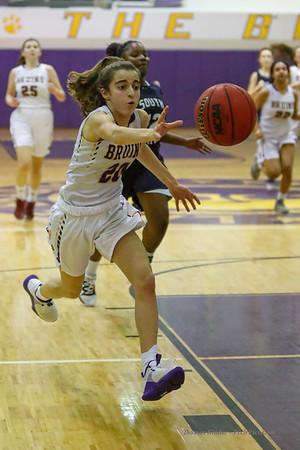 Girls JV Basketball v South County 2/11/14