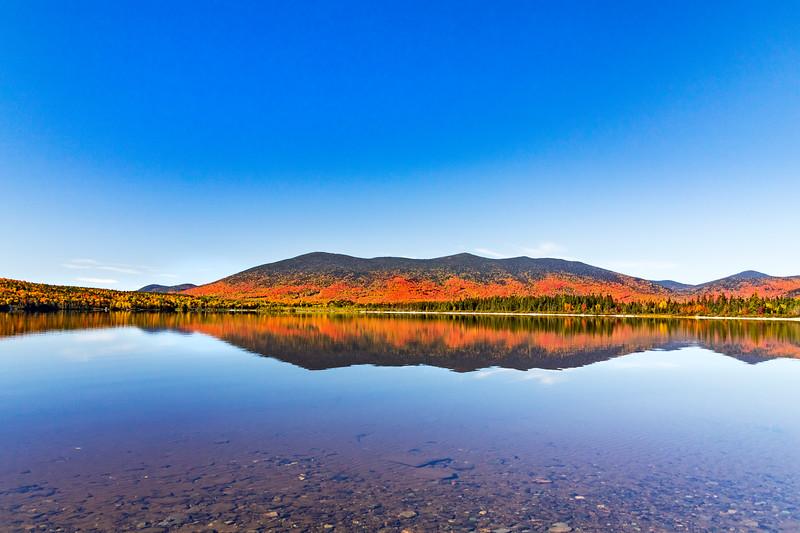 Foliage Reflections on Kennebago Lake