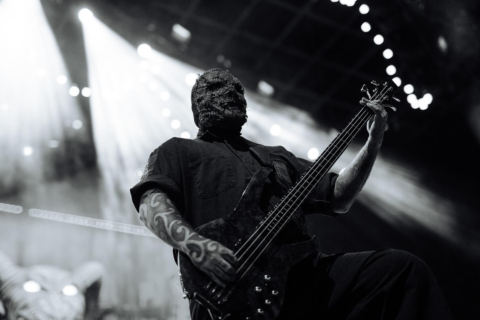 Alessandro Venturella of Slipknot by Adam Elmakias - Knofest 2015
