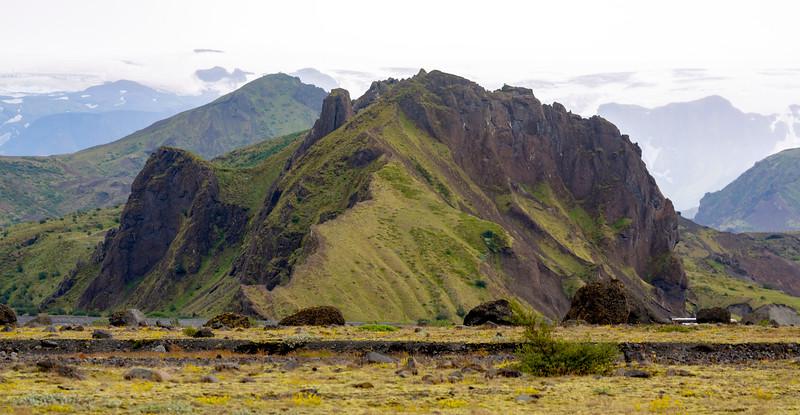 Volcanic hill