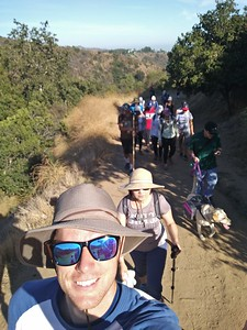 2019.7.28 Hollywood Sign Hike
