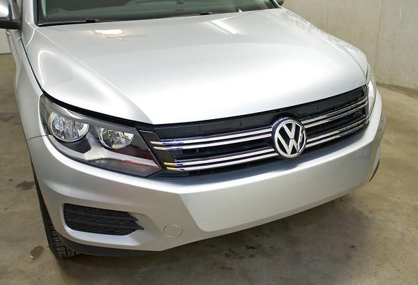 2012 Volkswagen Tiguan Clear Bra