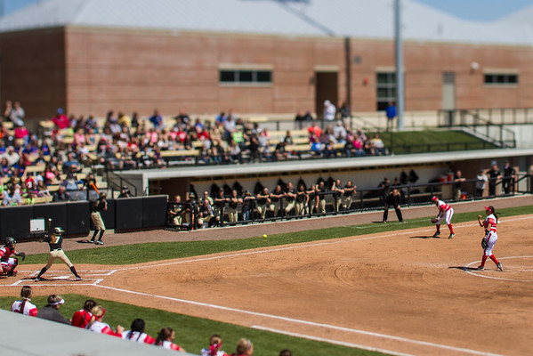 Purdue Softball vs Nebraska 2015-4-11