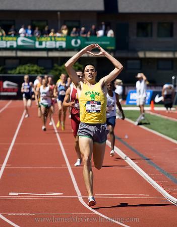 USA Championships: Distance (800-steeplechase)