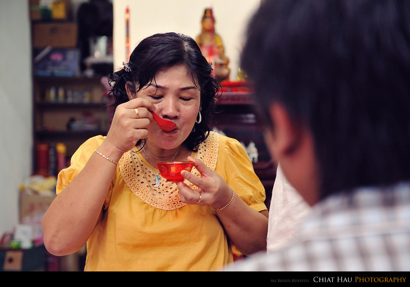 Check out how mom tasted it. :)